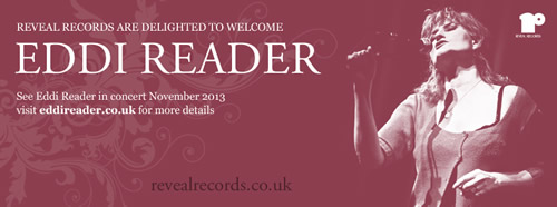 Eddi Reader Signs to Reveal
